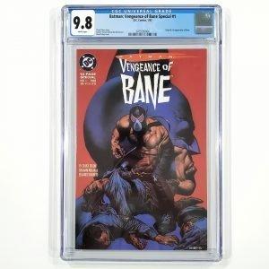 Batman: Vengeance of Bane #1 CGC 9.8 NM/M Front
