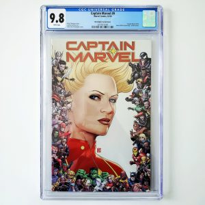 Captain Marvel (2019) #9 CGC 9.8 NM/M Christopher Variant Front