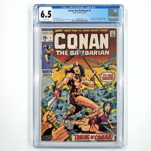Conan The Barbarian #1 CGC 6.5 FN+ Front