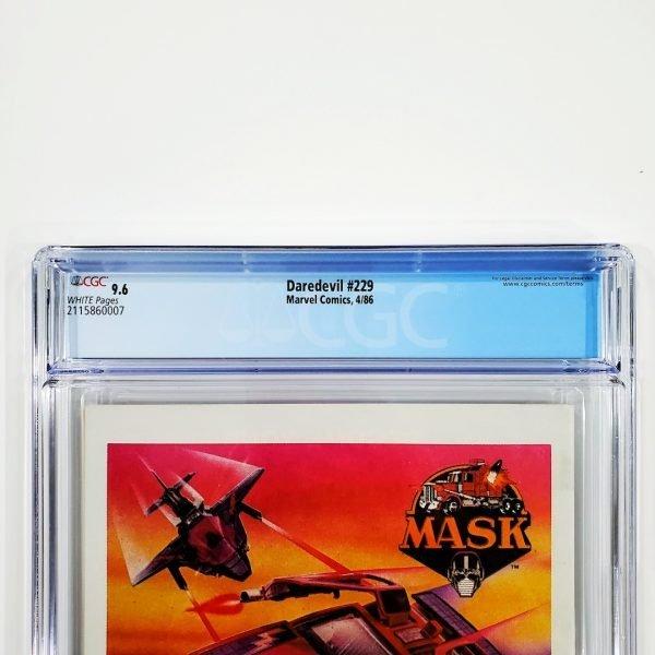 Daredevil #229 CGC 9.6 NM+ Back Label