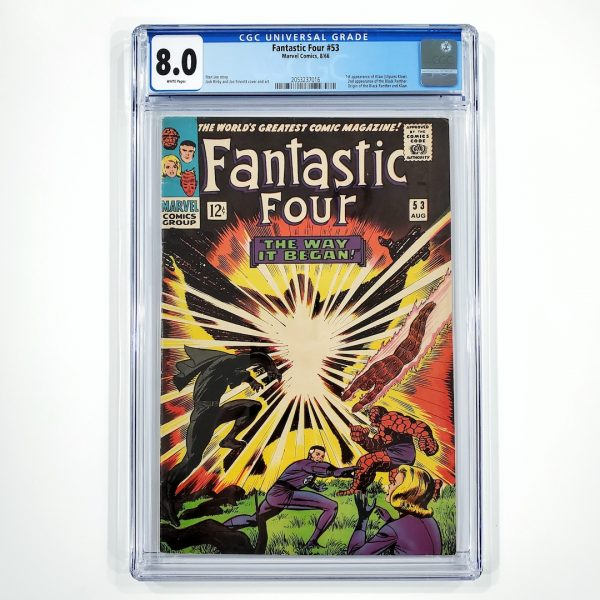 Fantastic Four #53 CGC 8.0 VF Front