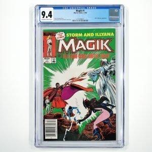 Magik #1 CGC 9.4 NM Front