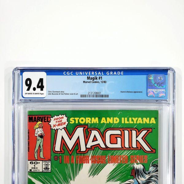 Magik #1 CGC 9.4 NM Front Label