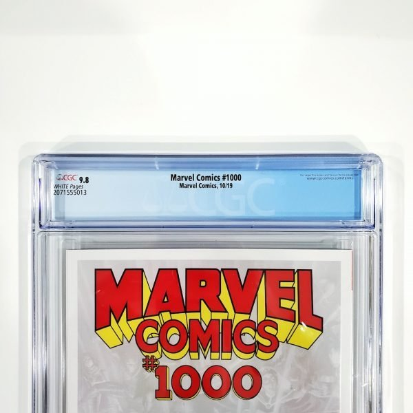 Marvel Comics #1000 CGC 9.8 NM/M Back Label