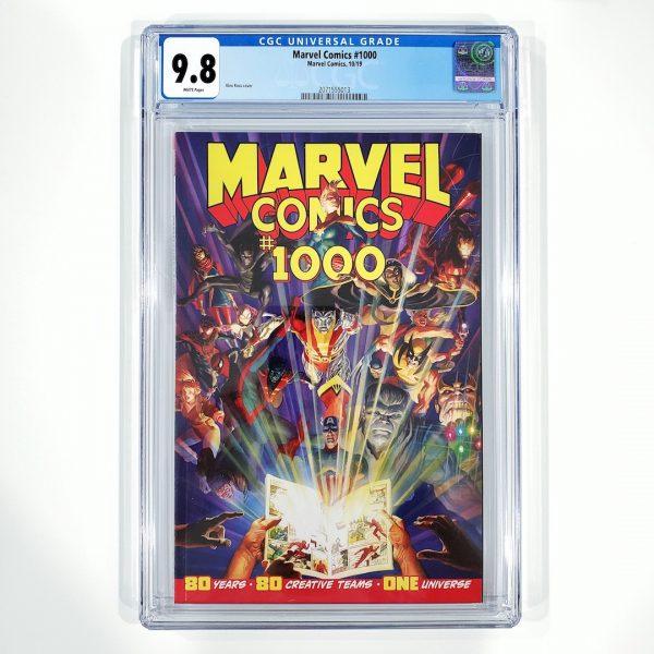 Marvel Comics #1000 CGC 9.8 NM/M Front
