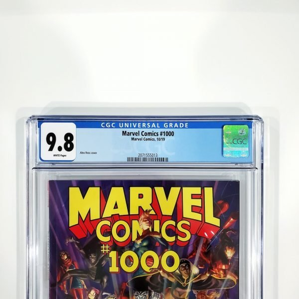Marvel Comics #1000 CGC 9.8 NM/M Front Label