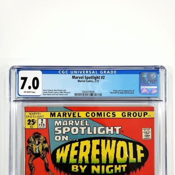 Marvel Spotlight #2 CGC 7.0 FN/VF Front Label