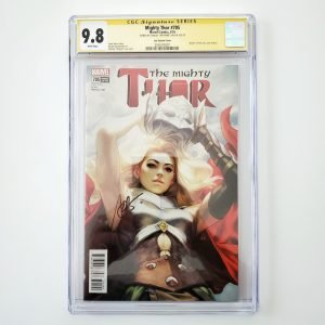 Mighty Thor #705 CGC SS 9.8 NM/M Artgerm Variant Front