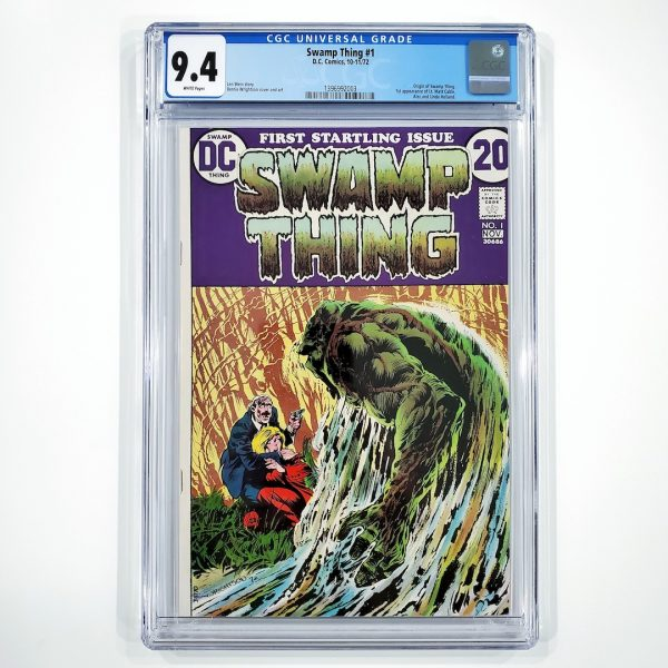 Swamp Thing #1 CGC 9.4 NM Front