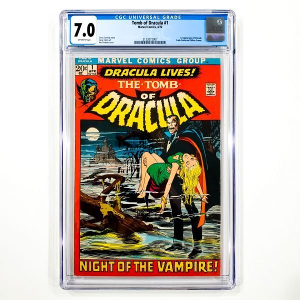 Tomb of Dracula #1 CGC 7.0 FN/VF Front