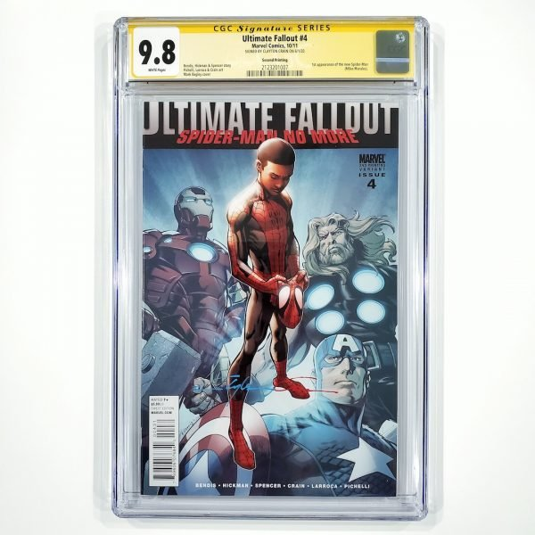 Ultimate Fallout #4 CGC SS 9.8 NM/M 2nd Print Front