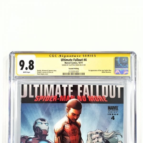 Ultimate Fallout #4 CGC SS 9.8 NM/M 2nd Print Front Label
