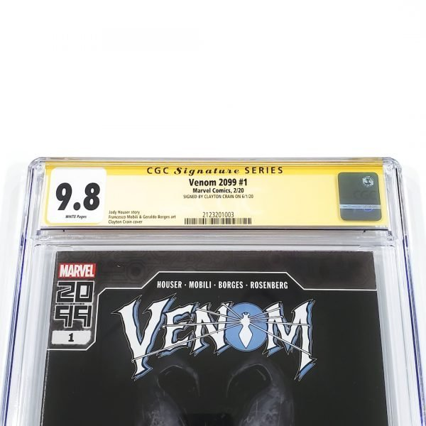 Venom 2099 #1 CGC SS 9.8 NM/M Front Label