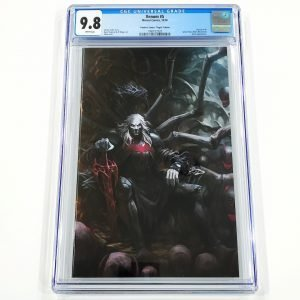 Venom (2018) #5 CGC 9.8 NM/M Frankie's Comics Virgin Variant Front