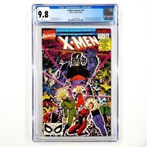 X-Men Annual #14 CGC 9.8 NM/M Front