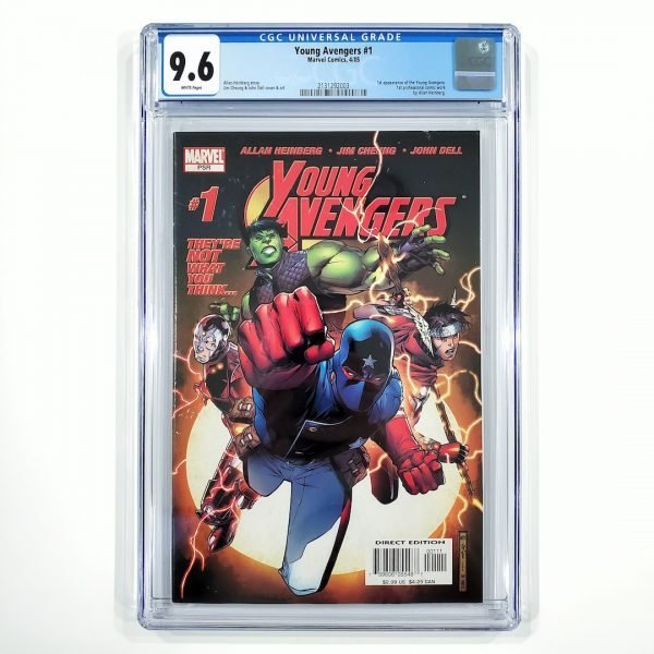 Young Avengers #1 CGC 9.6 NM+ Front