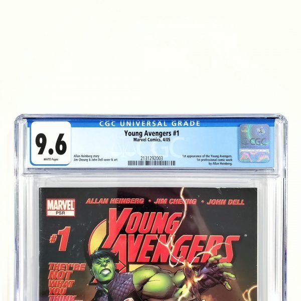 Young Avengers #1 CGC 9.6 NM+ Front Label