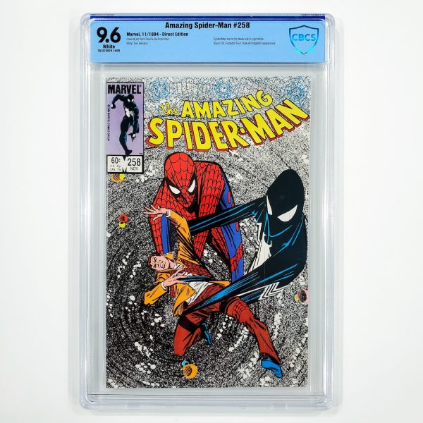 Amazing Spider-Man #258 CBCS 9.6 NM+ Front