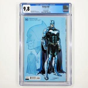 Batman #100 CGC 9.8 NM/M Jimenez Design Variant Front
