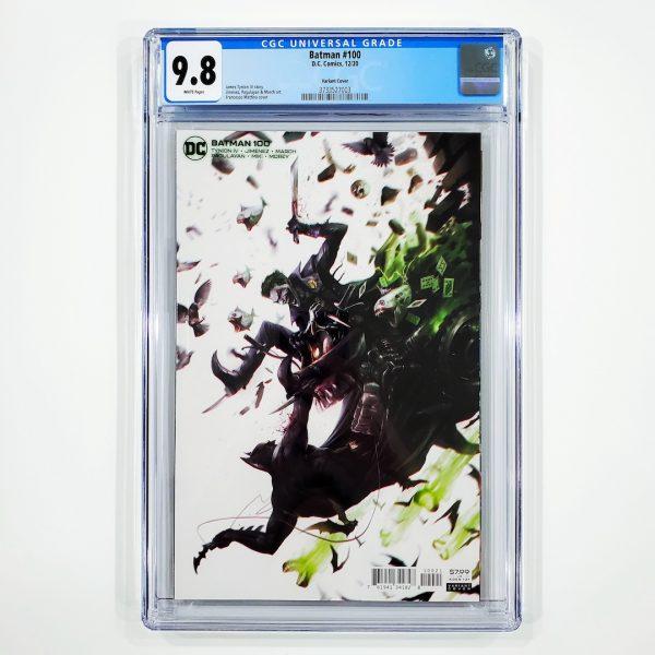 Batman #100 CGC 9.8 NM/M Mattina Variant Front