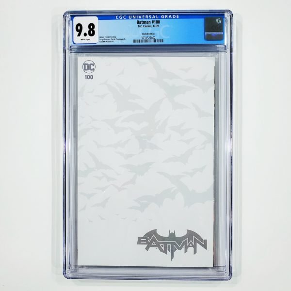 Batman #100 CGC 9.8 NM/M Sketch Variant Front