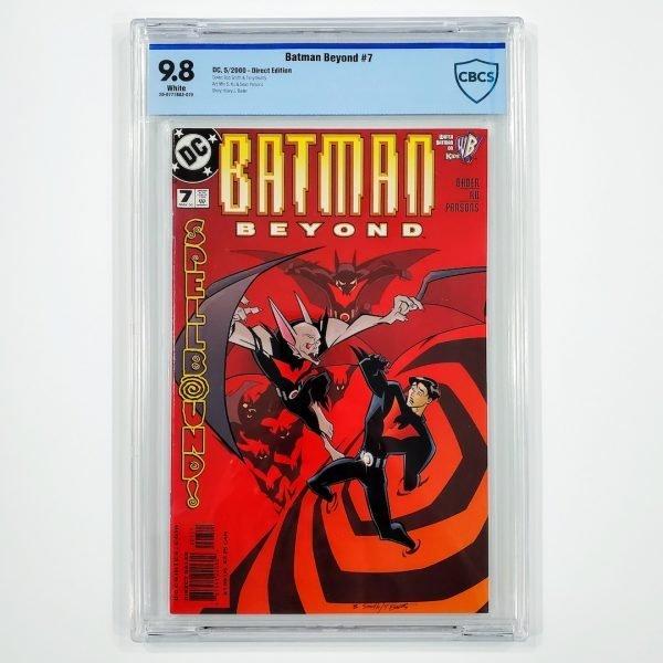 Batman Beyond #7 CBCS 9.8 NM/M Front