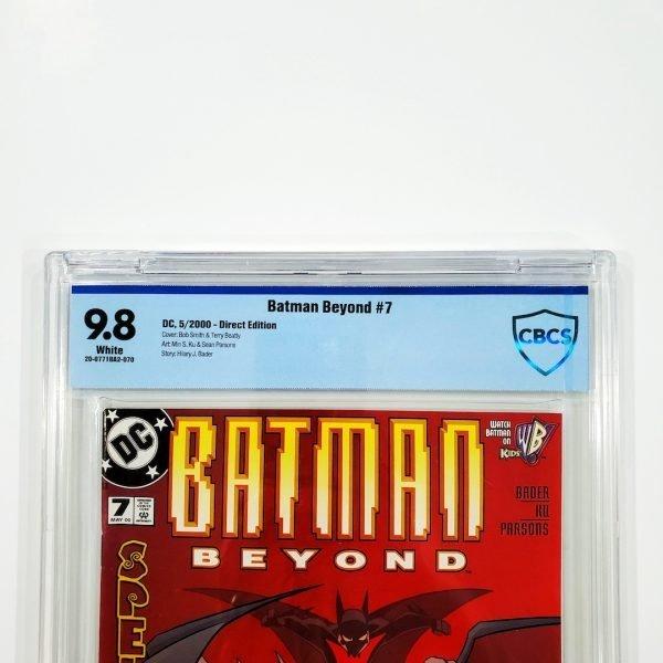 Batman Beyond #7 CBCS 9.8 NM/M Front Label