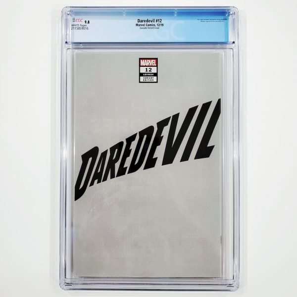 Daredevil (2019) #12 CGC 9.8 NM/M Quesada Variant Back