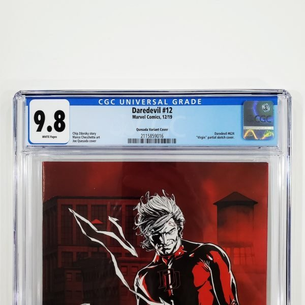 Daredevil (2019) #12 CGC 9.8 NM/M Quesada Variant Front Label