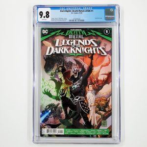 Dark Nights: Death Metal Legends of the Dark Nights #1 CGC 9.8 NM/M Front