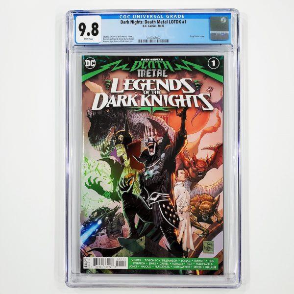 Dark Nights: Death Metal Legends of the Dark Nights #1 CGC 9.8 NM/M Front