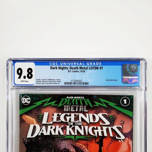 Dark Nights: Death Metal Legends of the Dark Nights #1 CGC 9.8 NM/M Front Label