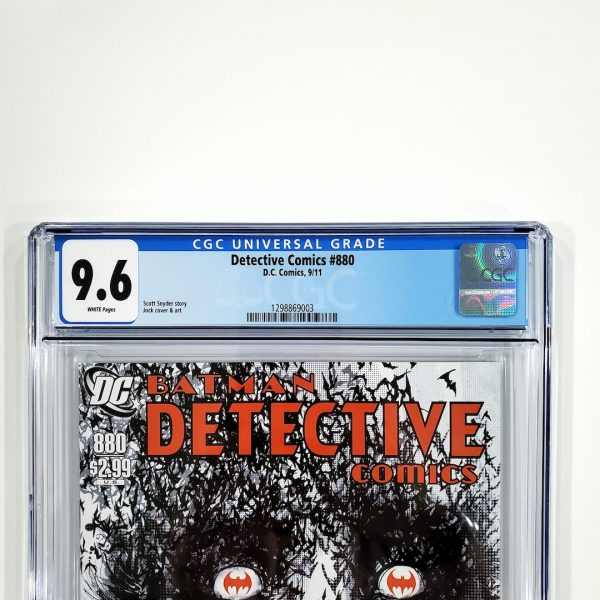 Detective Comics #880 CGC 9.6 NM+ Front Label