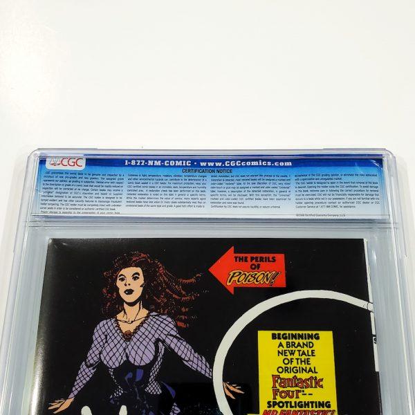 Marvel Comics Presents #64 CGC 9.6 NM+ Back Label