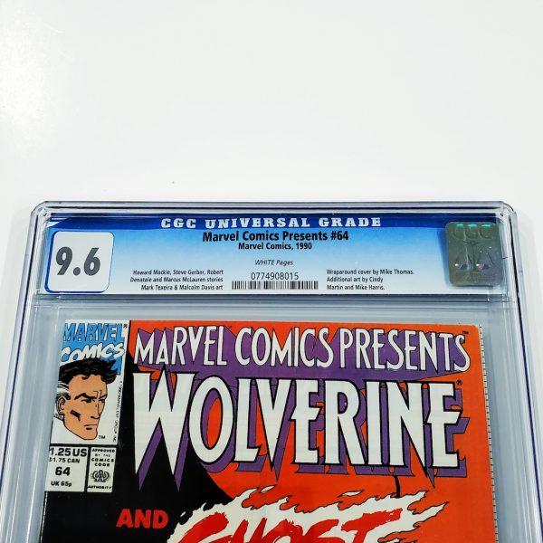 Marvel Comics Presents #64 CGC 9.6 NM+ Front Label