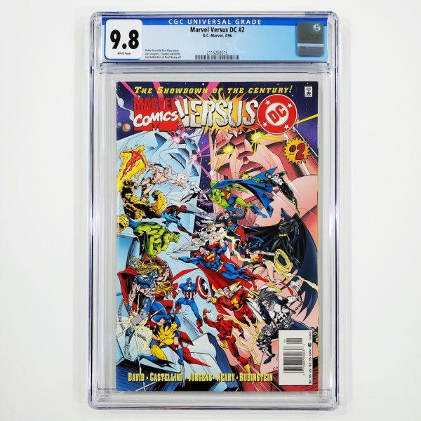 Marvel Versus DC #2 CGC 9.8 NM/M Front