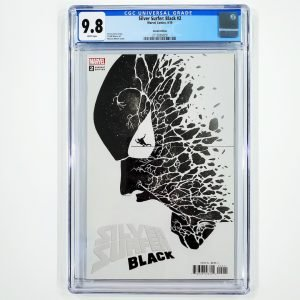 Silver Surfer: Black #2 CGC 9.8 NM/M Martin Variant Front
