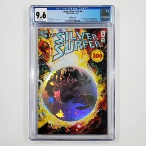 Silver Surfer (Vol. 3) #100 CGC 9.6 NM+ Hologram Cover Front
