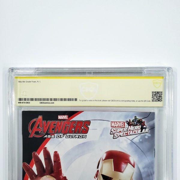Spider-Gwen #1 CBCS SS 9.8 NM/M Back Label