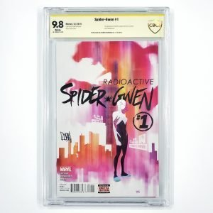 Spider-Gwen #1 CBCS SS 9.8 NM/M Front