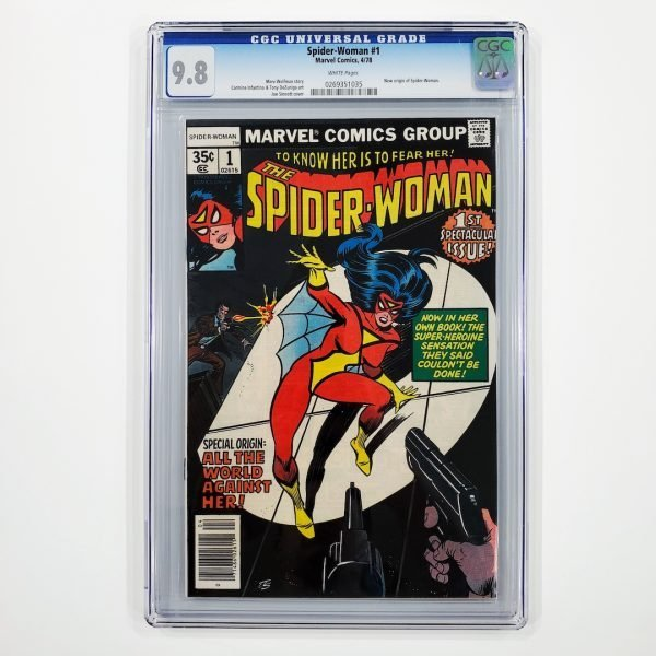 Spider-Woman #1 CGC 9.8 NM/M Front