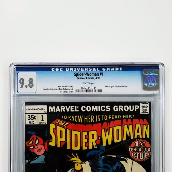 Spider-Woman #1 CGC 9.8 NM/M Front Label