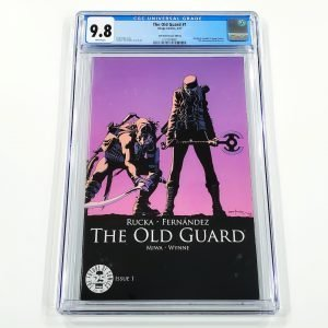 The Old Guard #1 CGC 9.8 NM/M 25th Anniversary Variant Front