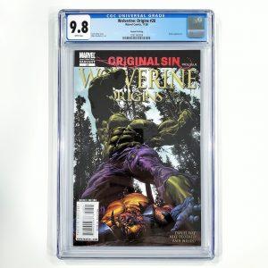 Wolverine: Origins #28 CGC 9.8 NM/M 2nd Print Variant Front