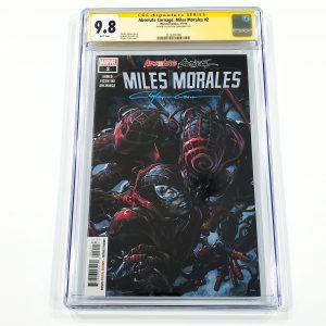 Absolute Carnage: Miles Morales #2 CGC SS 9.8 NM/M Front