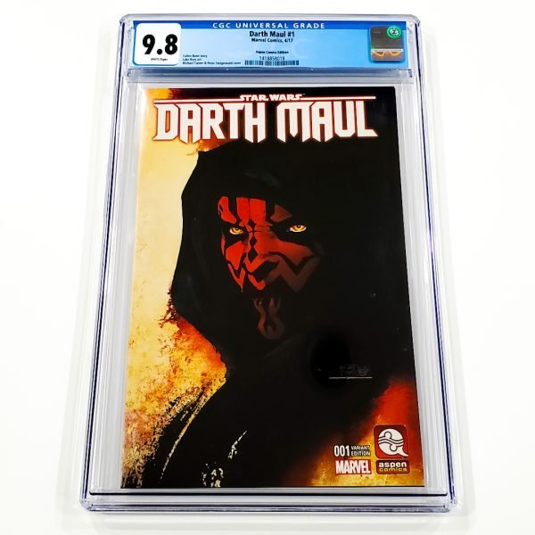Darth Maul #1 CGC 9.8 NM/M Aspen Comics Variant Front