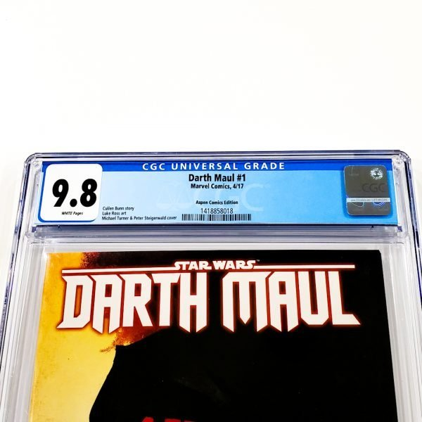 Darth Maul #1 CGC 9.8 NM/M Aspen Comics Variant Front Label