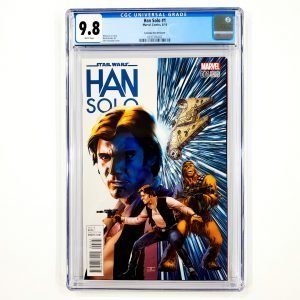 Han Solo #1 CGC 9.8 NM/M Cassaday Variant Front