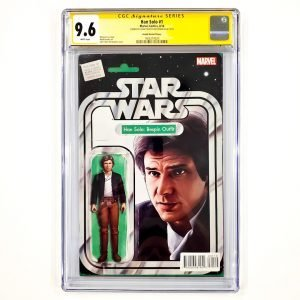 Han Solo #1 CGC SS 9.6 NM+ Action Figure Variant Front