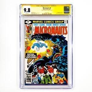 Micronauts #8 CGC SS 9.8 NM/M Front